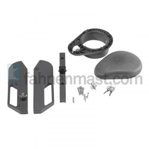 hissvorrichtungsset fahnenmast scirocco 76 102 mm. Black Bedroom Furniture Sets. Home Design Ideas